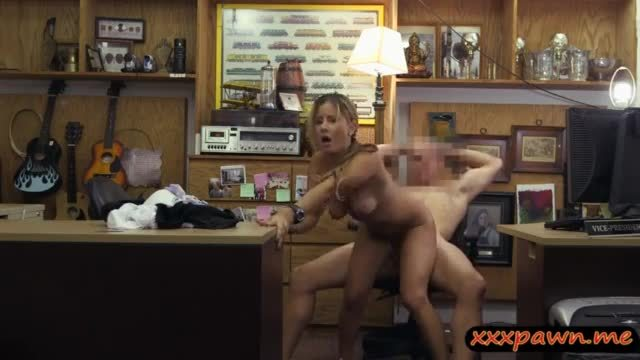 Hot ass coed fucked by nasty pawn keeper