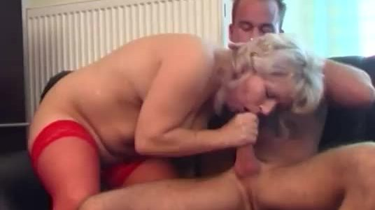 Hot and unnatural blonde being seduced for some fucking action