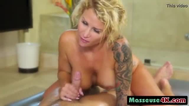 A hot pregnant brunette chick sucks hard penis then ride it with her wet pussy