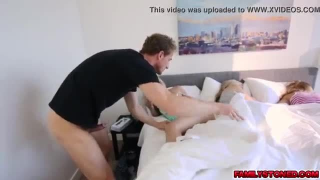 Perverted stepdad gets his way and then some