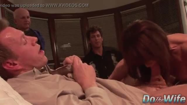 Sexy milf wife blowjob and cums on his face