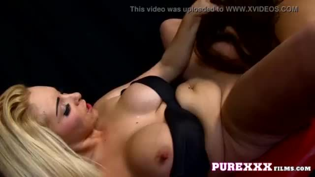 Busty blonde milf horny to eat a sweet 18yo coochie