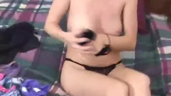 Best amateur girl friend masturbates
